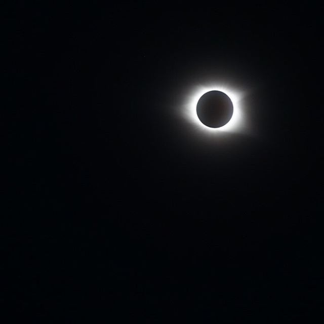 Definitely the most worthwhile 1.5 hour drive ever #eclipse2017