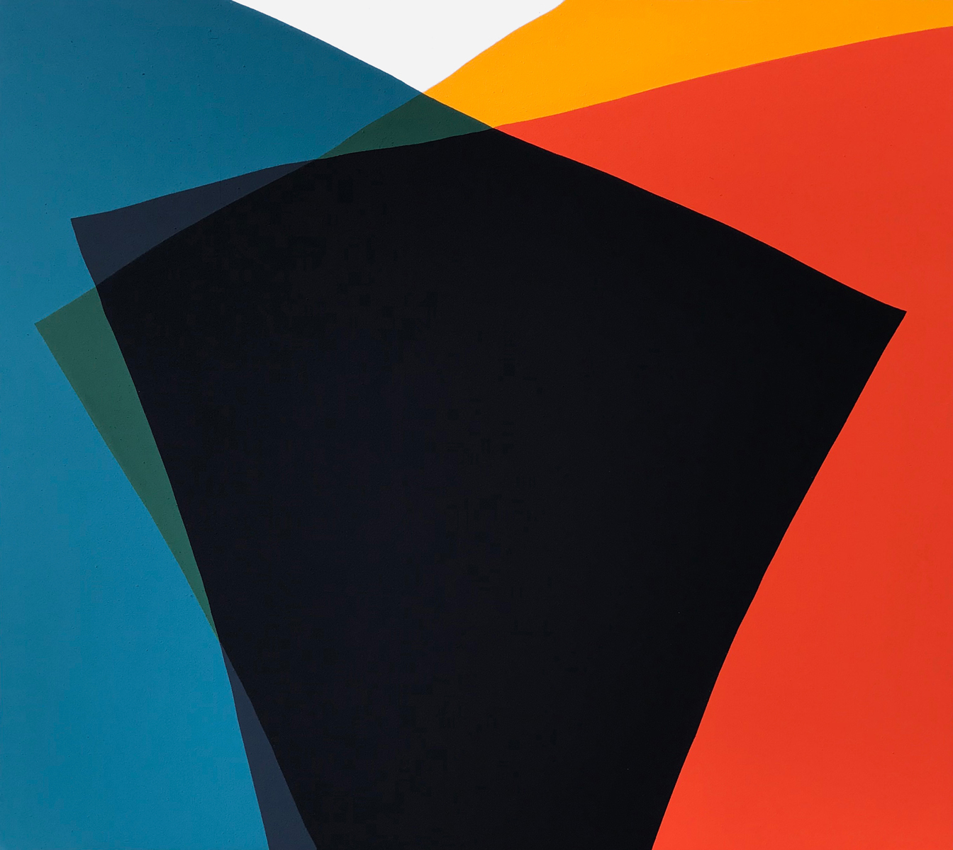 Paul Kremer  -    Siren 05 , 2018 Acrylic on canvas 48h x 54w in