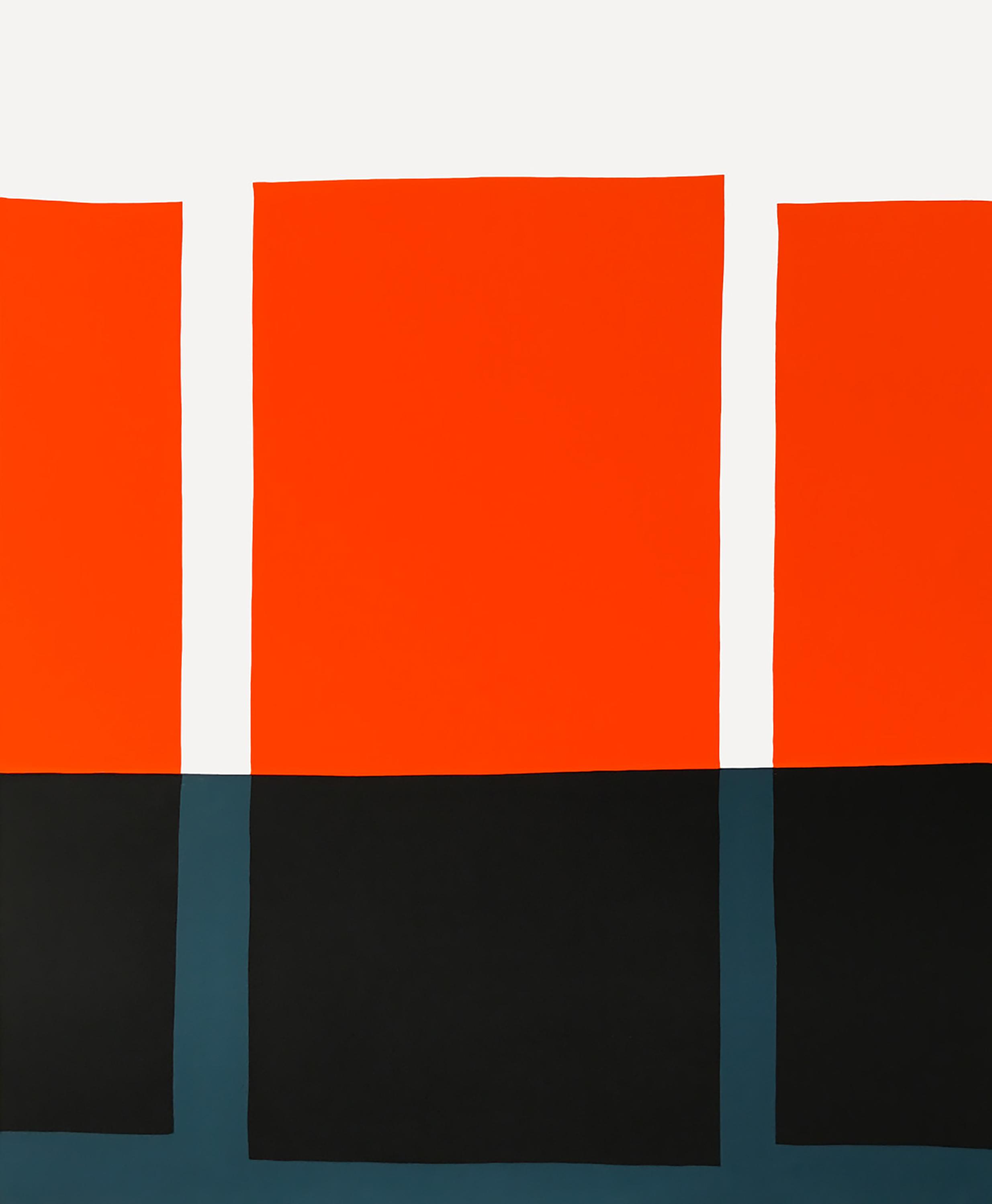 Paul Kremer  -    Three Floats , 2017 Acrylic on canvas 84h x 64w in