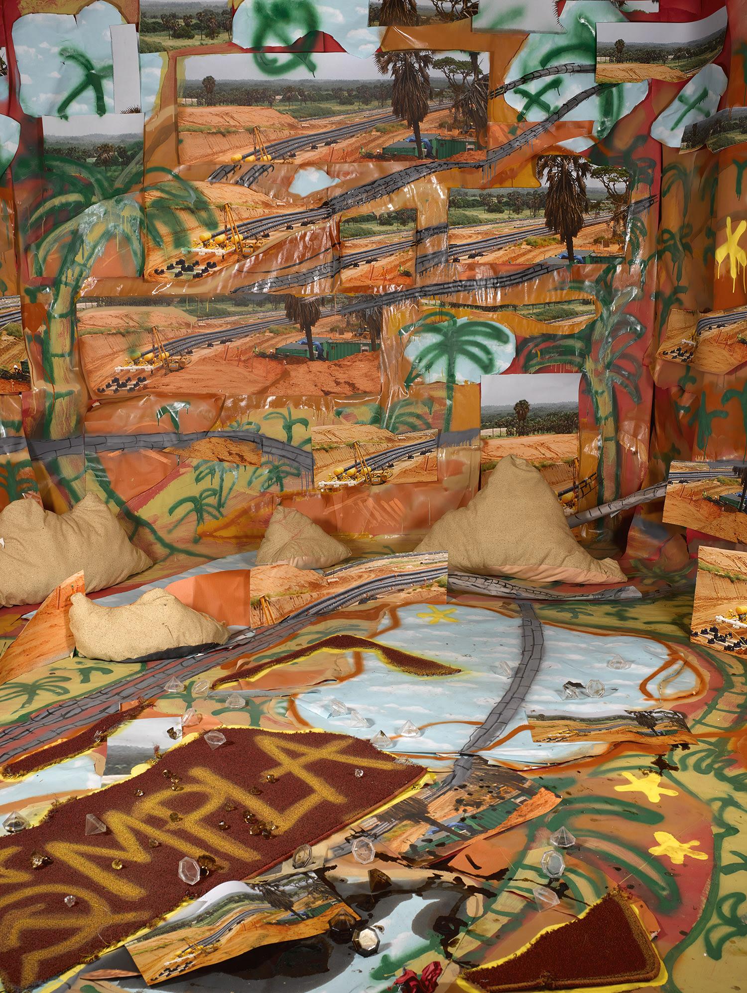 Sheida Soleimani  -  Angola MPLA , 2018 Archival pigment print, Edition of 2 + 2 APs 60 x 40 inches