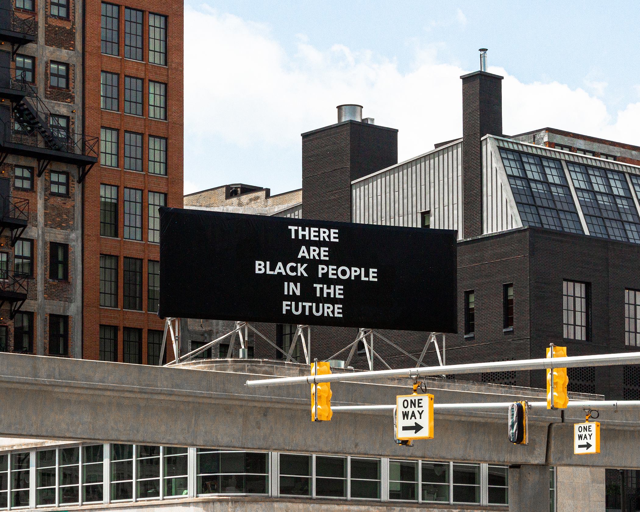 Alisha B. Wormsley  -  There Are Black People in the Future , 2018