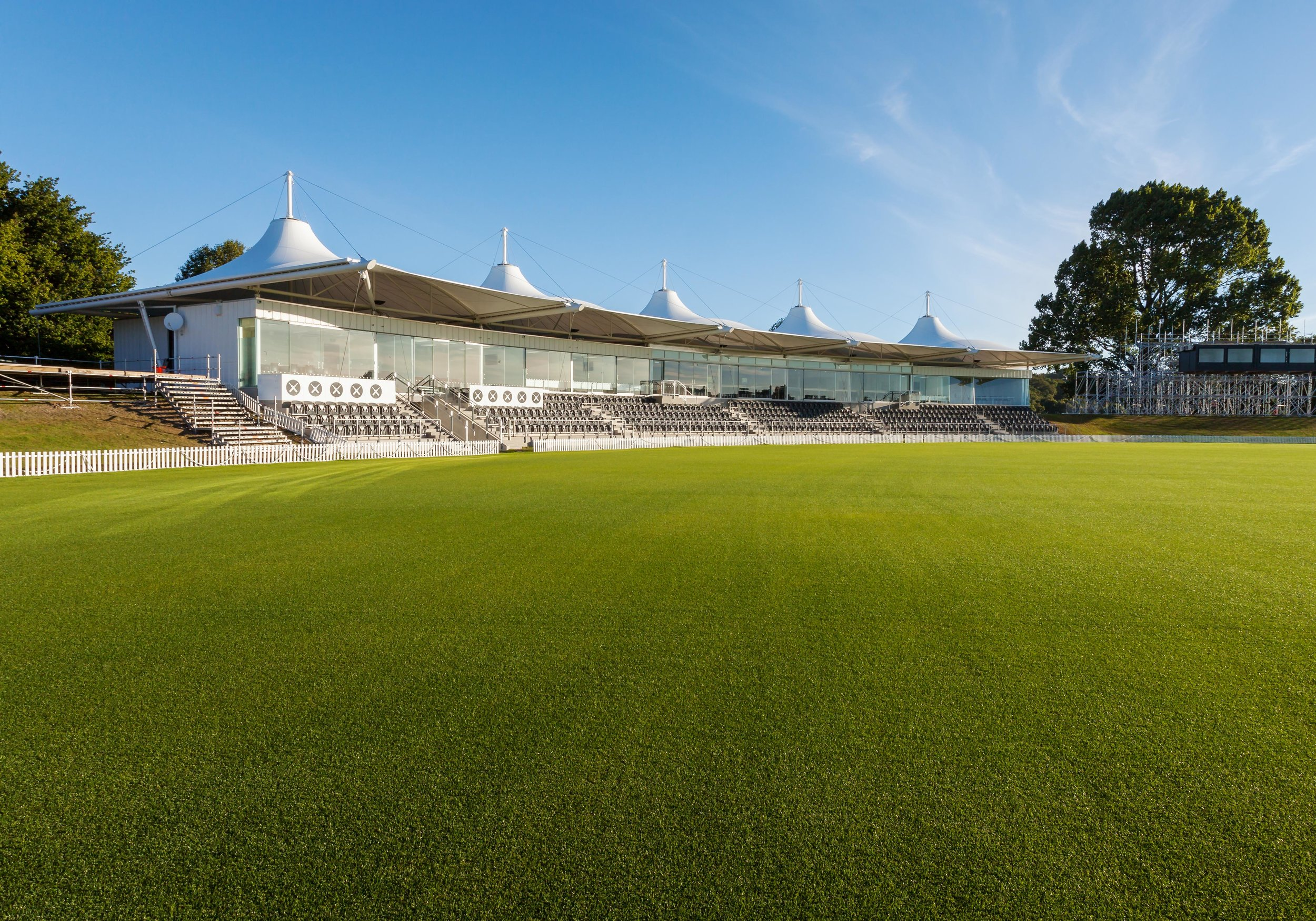 Hagley cricket oval stadium