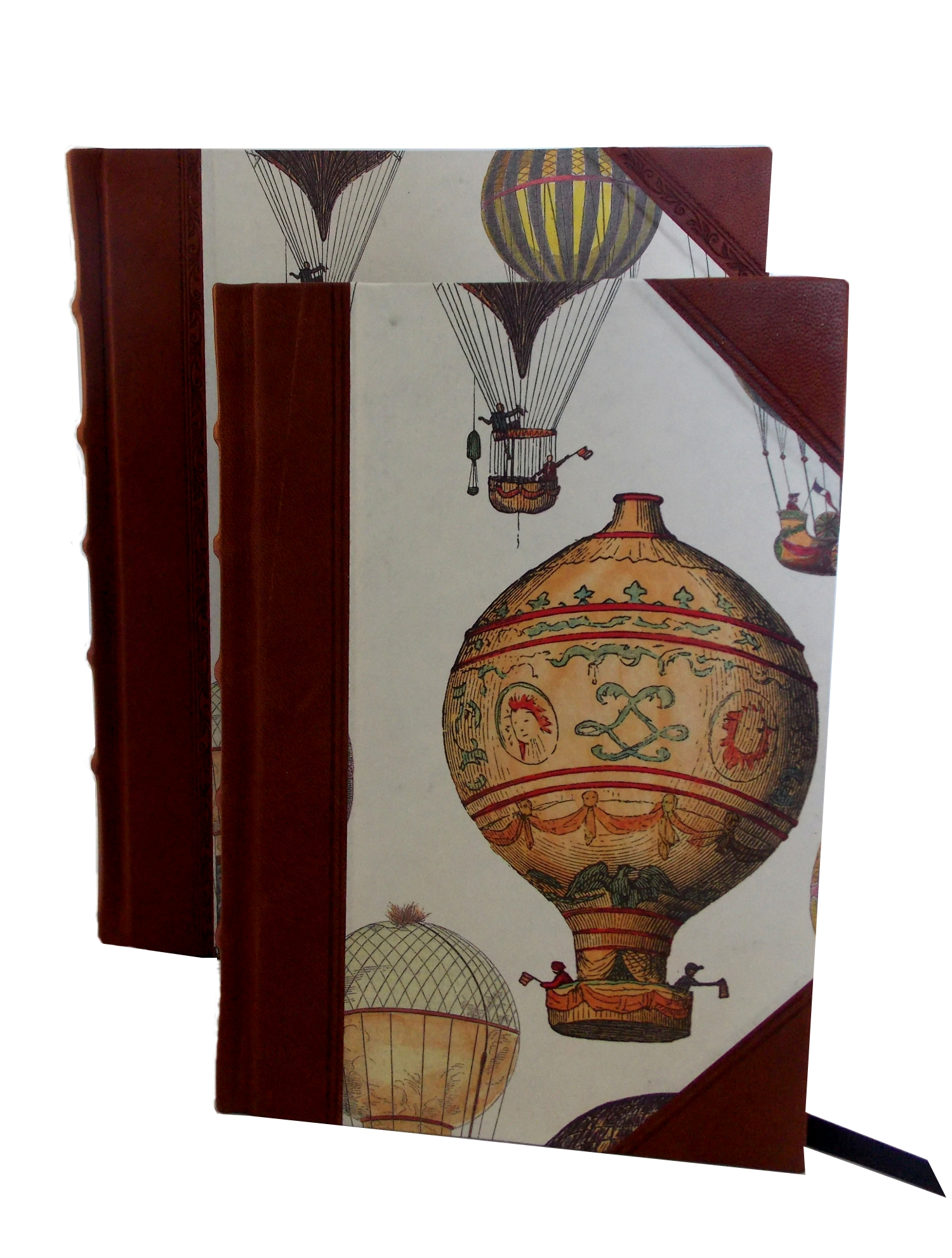 Balloon Half Leather Journal