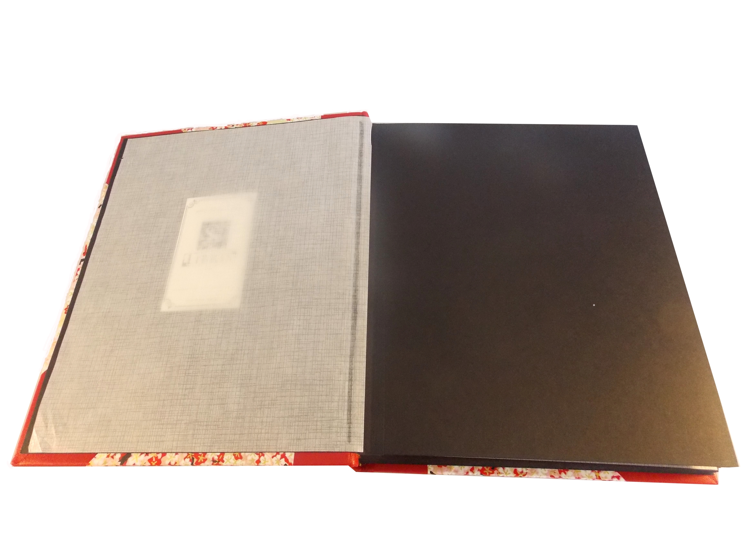 Inside View of Portrait sized album