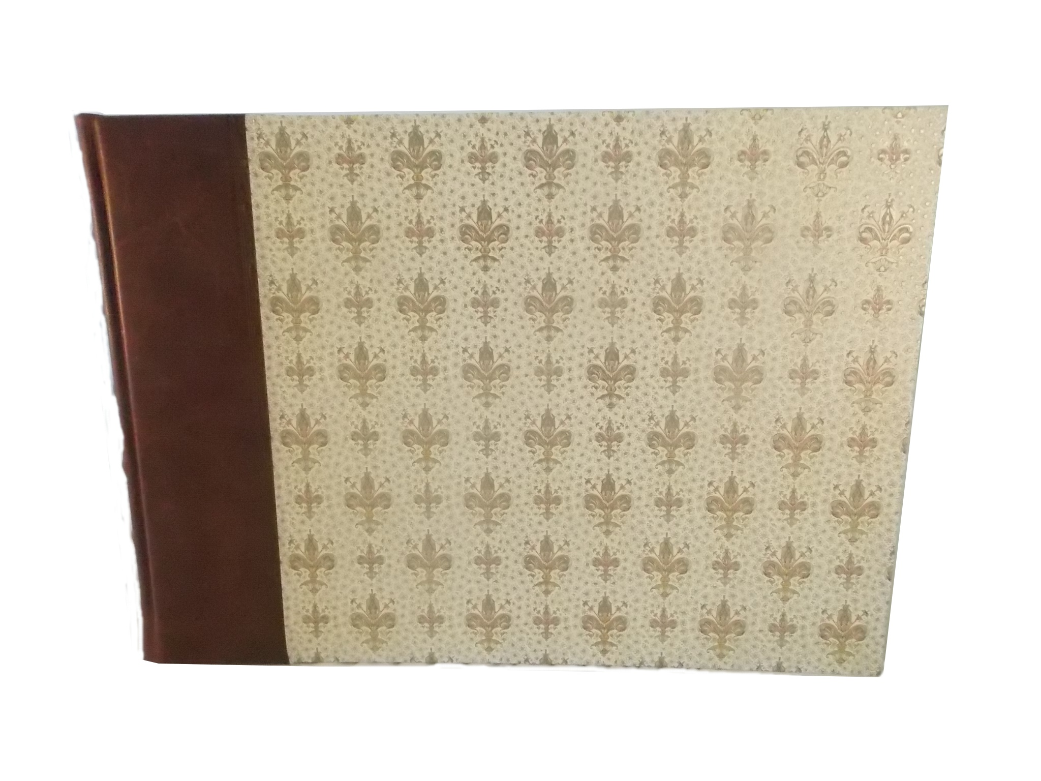 Fleur De Lys Leather Landscape Album