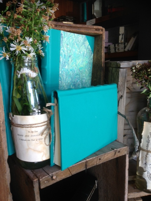 Turquoise Leather Journals