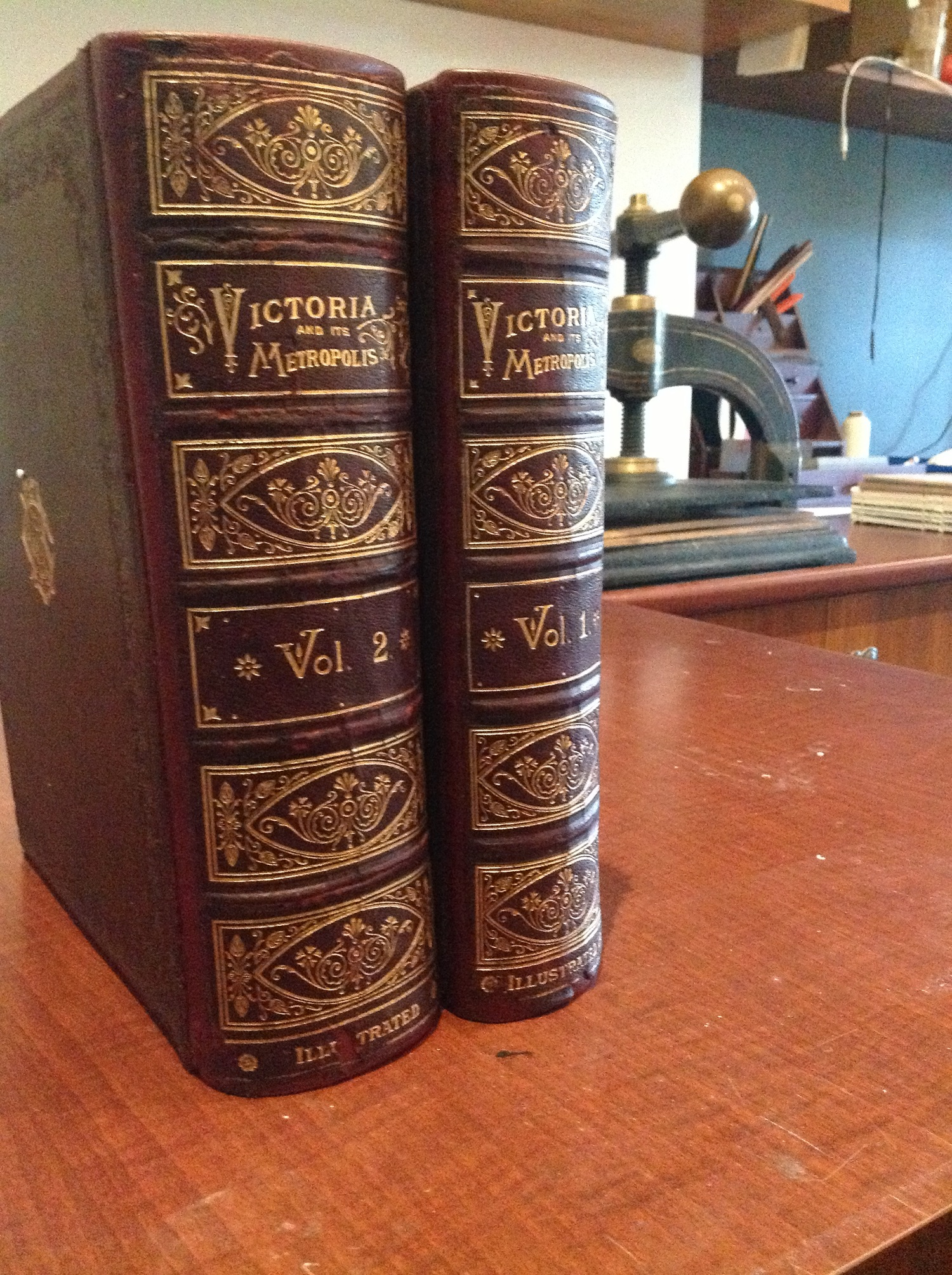 Restored Victoria and its Metropolis in Two Volumes