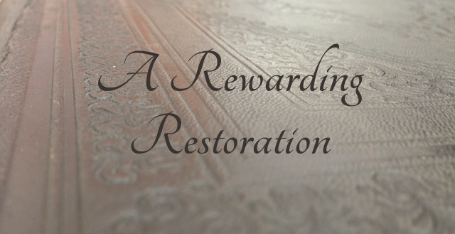 Rewarding Restoration