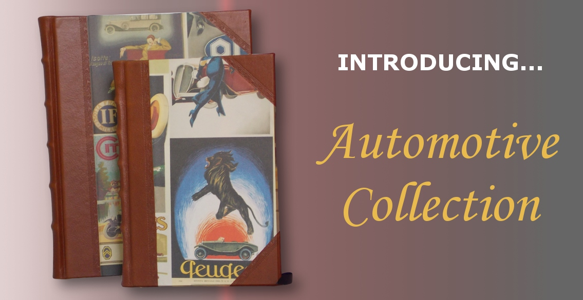 Fine Leather Journals & Albums - Automotive Collection