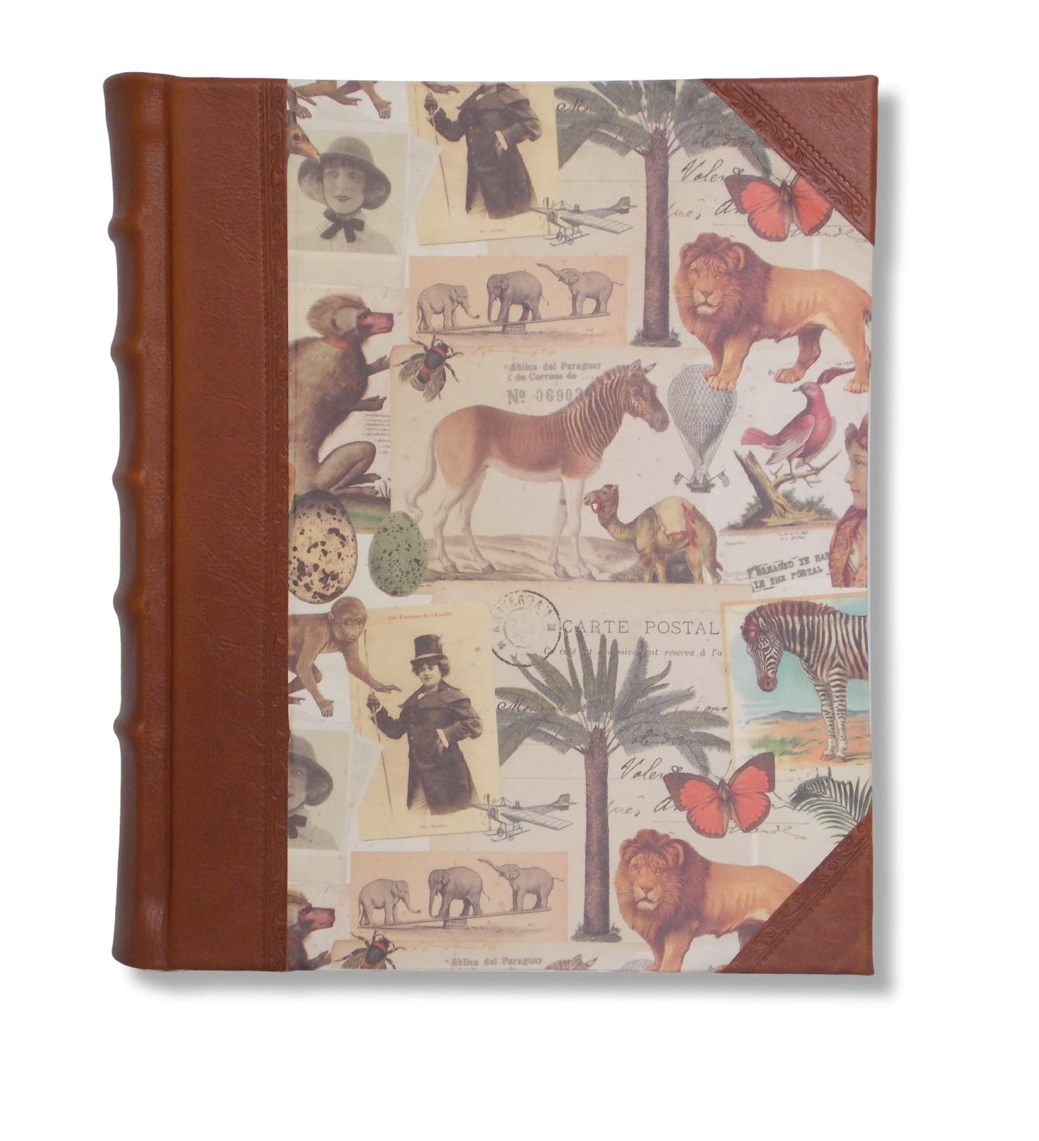 Safari Portrait Leather Album