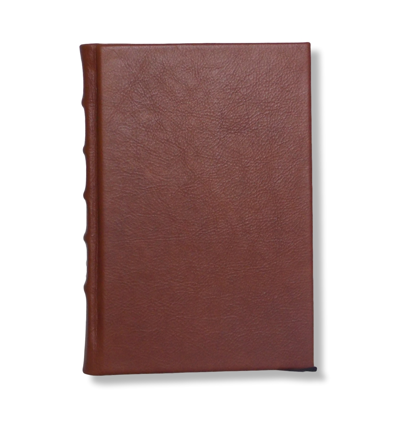 Full Leather Hard Bound Journal in Chestnut Brown  - Other colours and sizes available.  Ideal for embossing with names and titles. Priced from $150