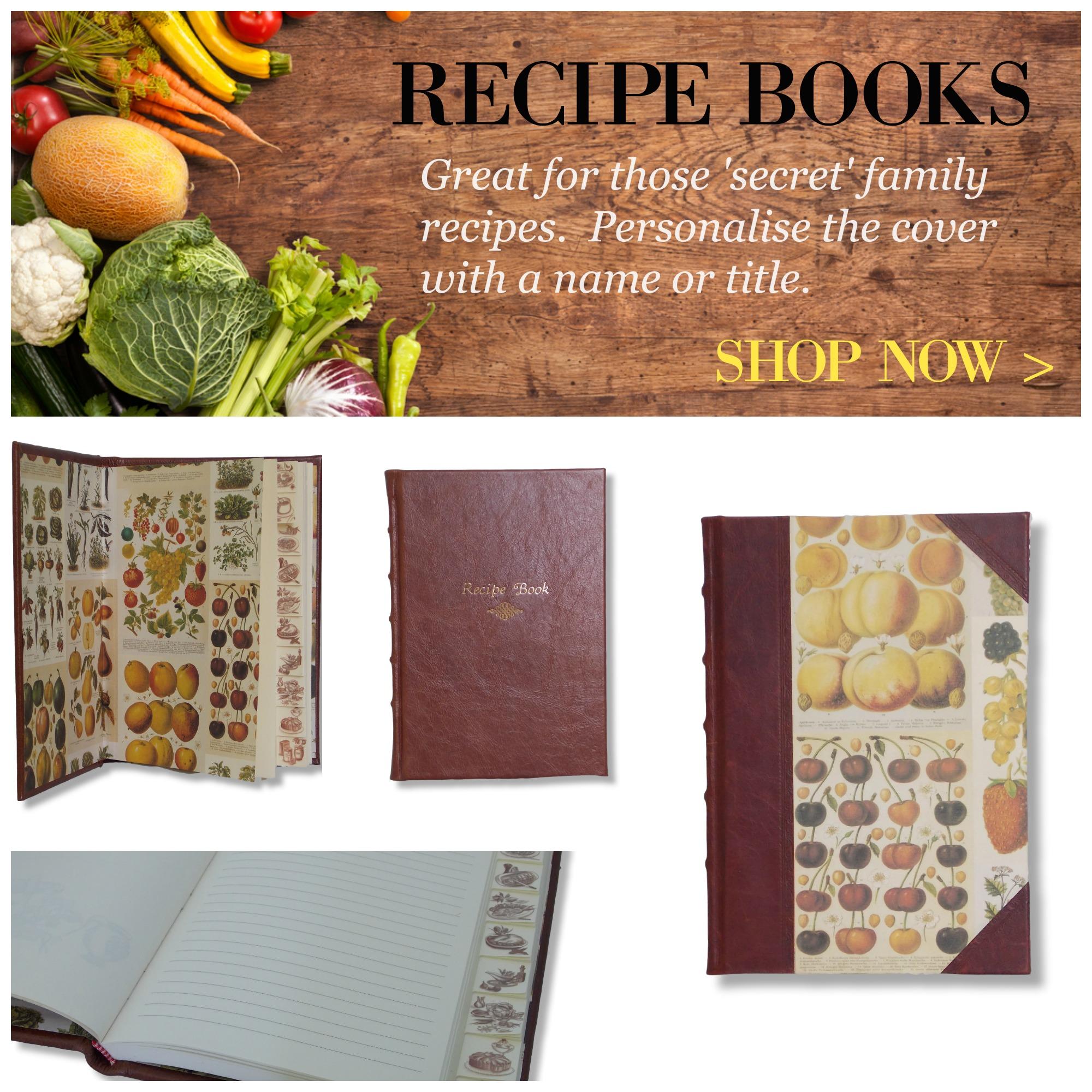 Handcrated Recipe Books