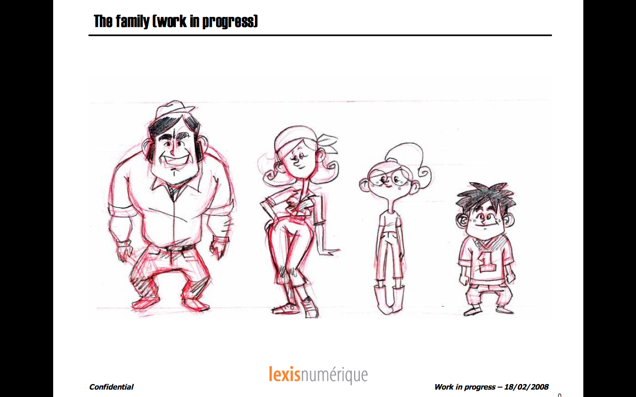First sketch of the family