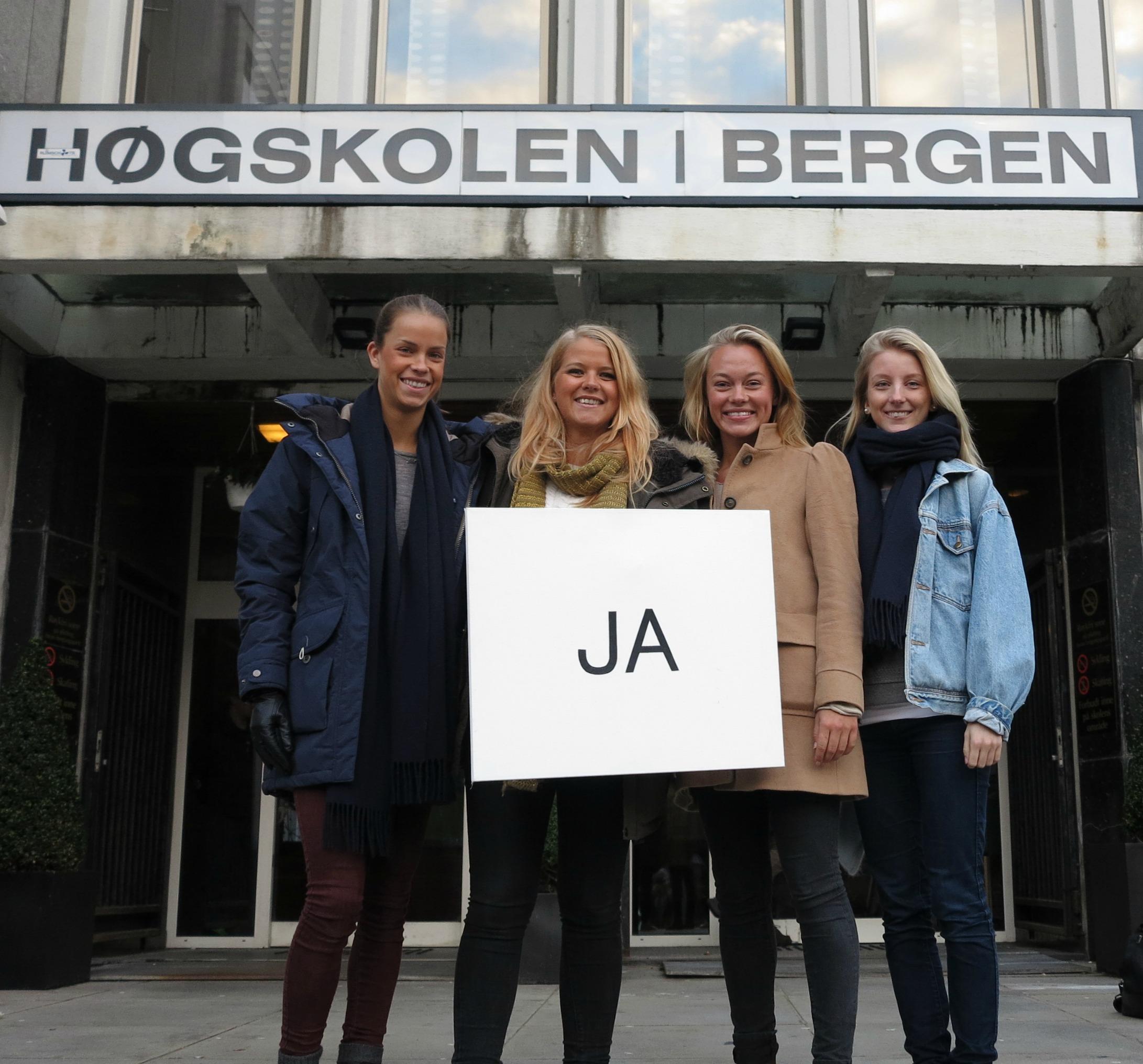 Bilde fra opptaket av prosjektfilmen. Foto:Martin Fjeldstad