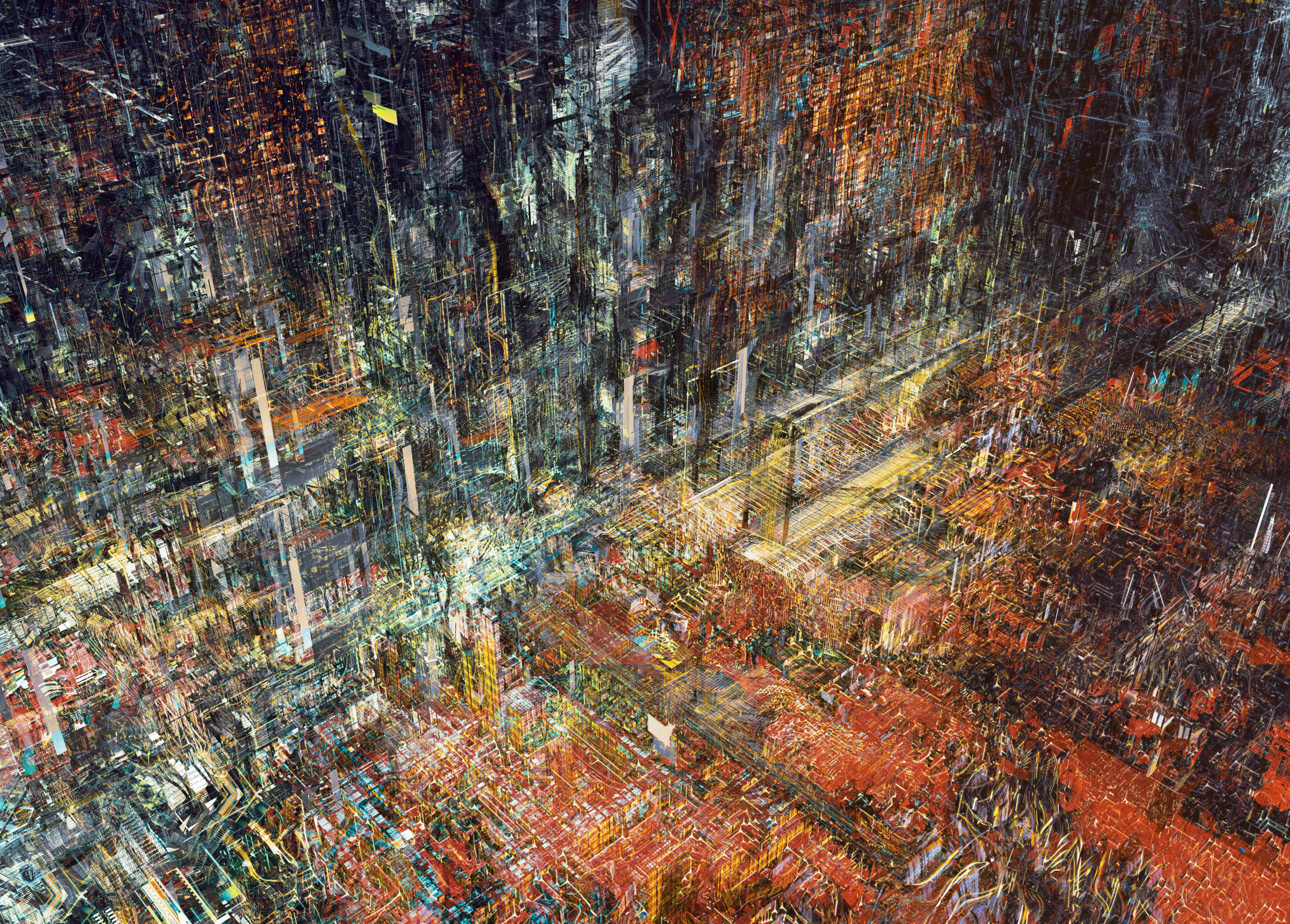WASTELAND/illustration series (c) atelier olschinsky / Peter Olschinsky, 2013.