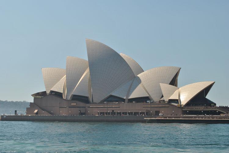 Operan i Sydney. Foto: Ingunn Hvidsten