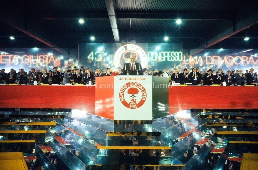 PSI Verona congress in 1984.Image credit: Alberto Peruzzo Editore