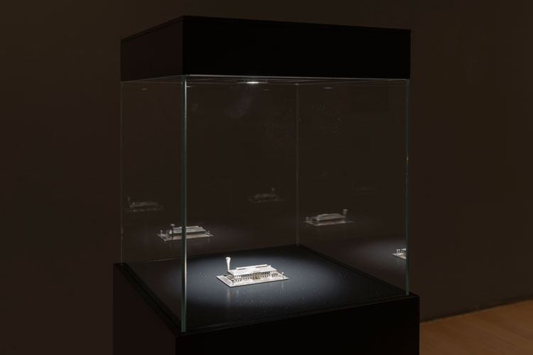 Carlos Garaicoa. Las Joyas de la Corona/The Crown Jewels, 2009. Installation view at Botin's Foundatio, Santander, Spain. Foto: Oak Taylor-Smith