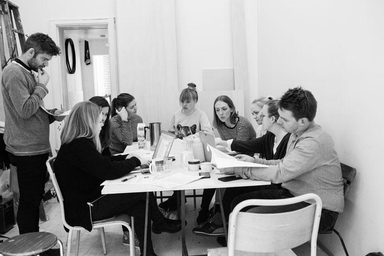 Workshop med hele KOTE foto: Kirsti ReinsbergMørch