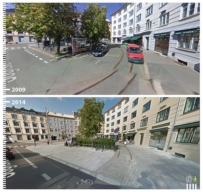 "Photo: Sognsveien, Oslo, ""Urb-I"" (Google Street View)"
