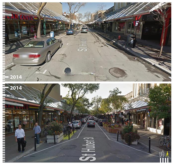 "Photo: Rue St Hubert, Montreal, ""Urb-I"" (Google Street View)"
