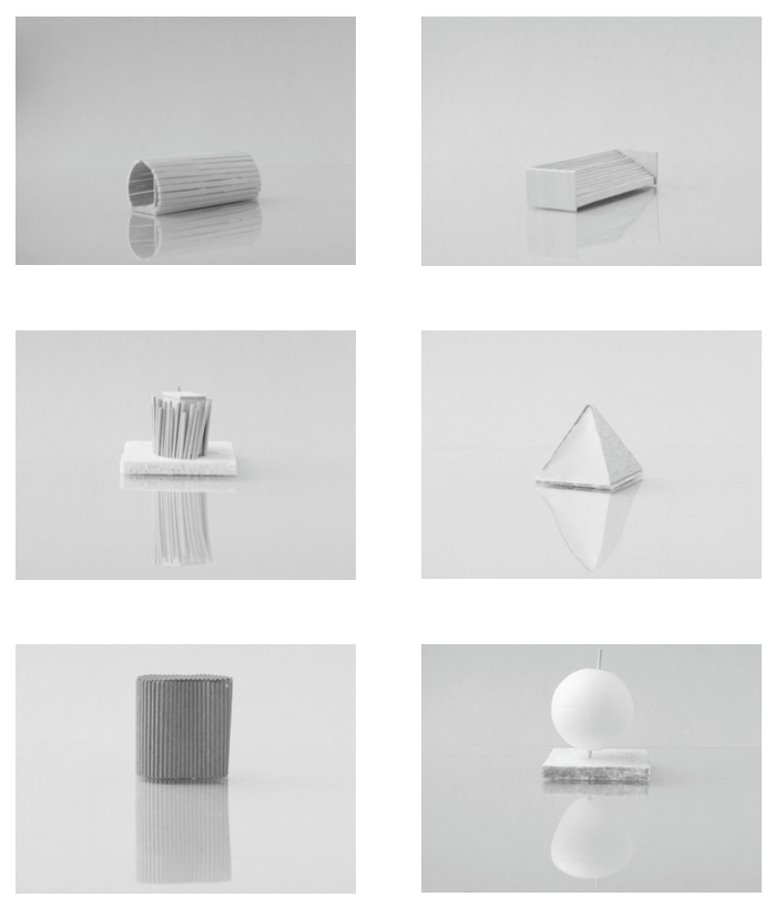 Some of the small models. Photo: Minihouse Hurdal