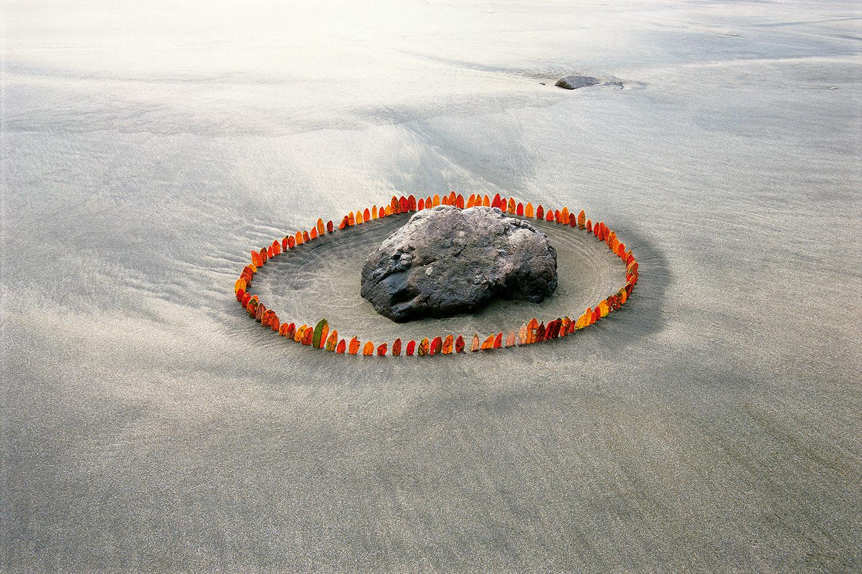 Title: Encircled Stone