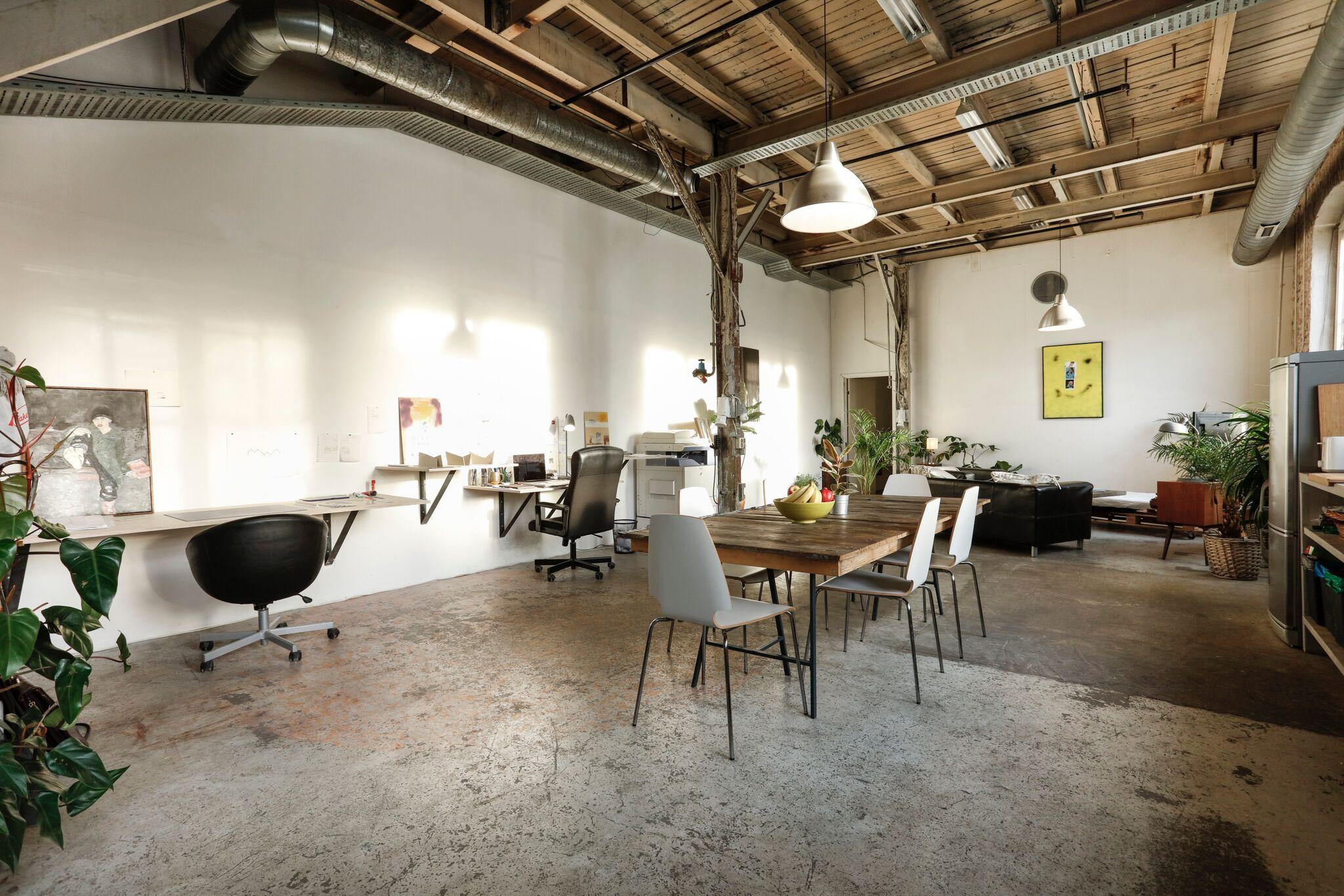 Studio til Mikkel Wennesland, Foto: Joachim Karlsen