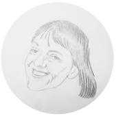 Sarah Prosser:  leder for Tøyen Unlimited, en inkubator for sosialt entreprenørskap under områdeløftet på Tøyen  Illustrasjon:Ragnhild Augustsen