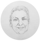 Åse Brandvold: beboer og aktivist på Tøyen  Illustrasjon:Ragnhild Augustsen