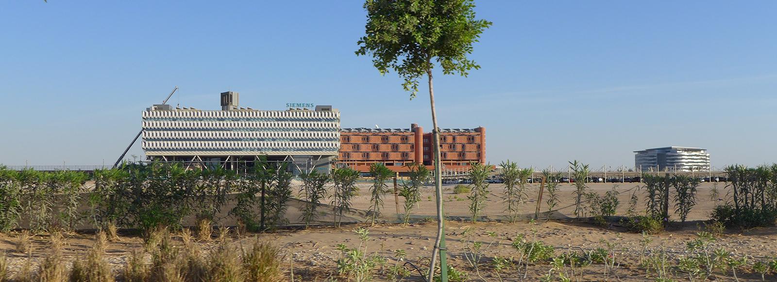 Masdar: Et lite stykke fremtidsby