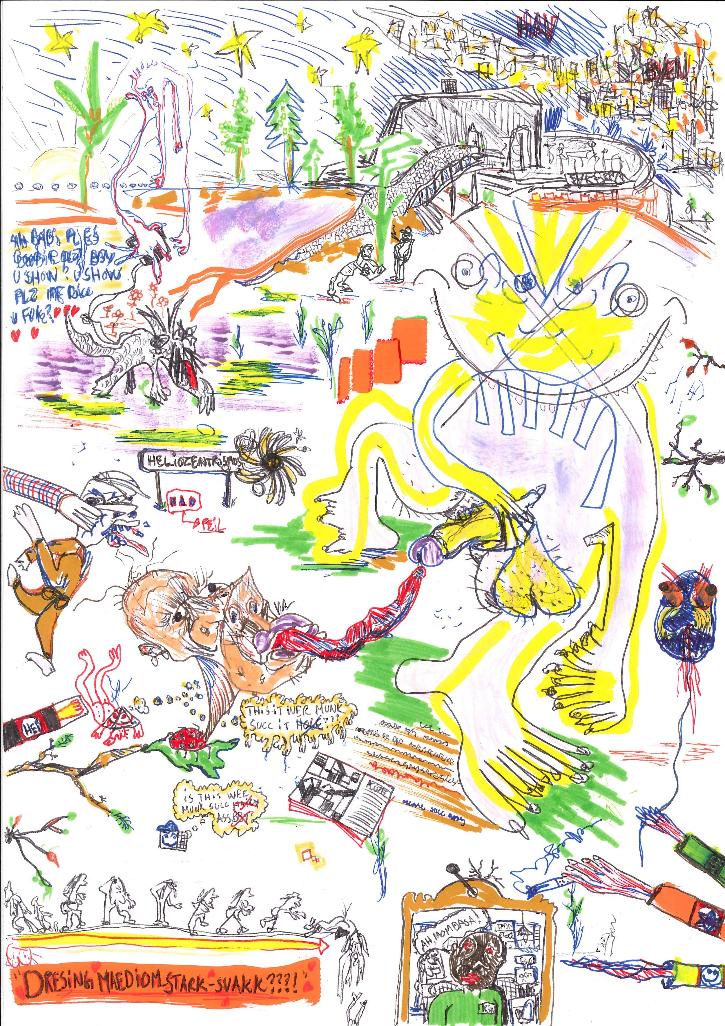 Illustrasjon av Magnus Vanebo