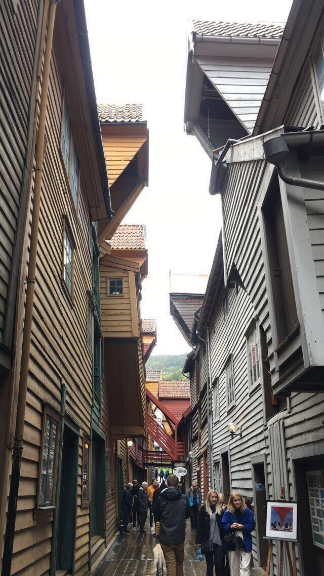Bryggen i Bergen.