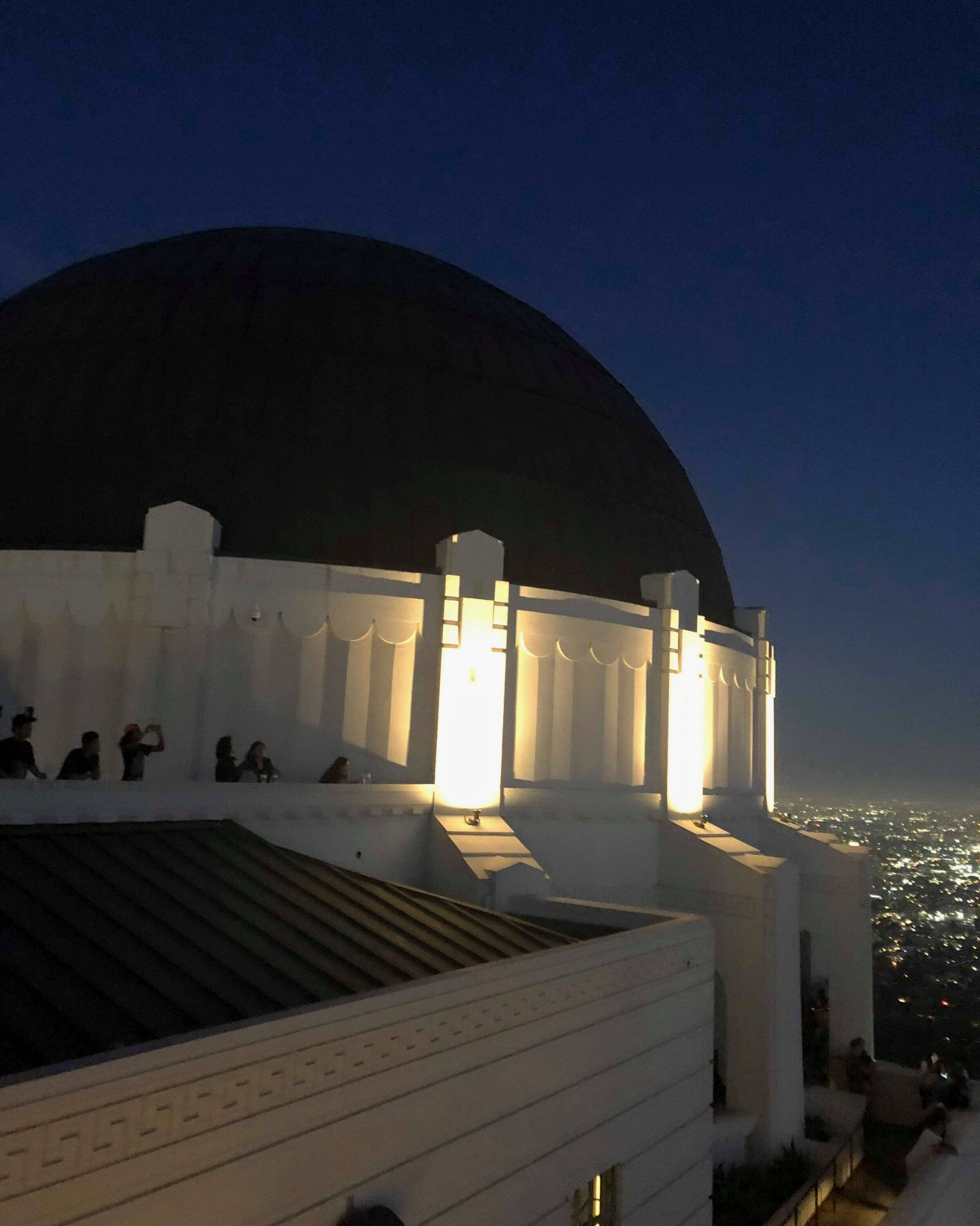 Griffith Observatory i Los Angeles (foto: Tina Lam)