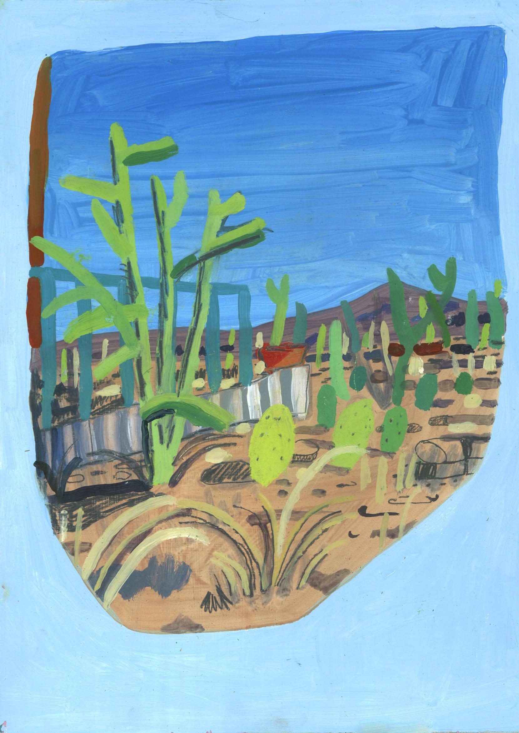 T or C landscape ( Blue )