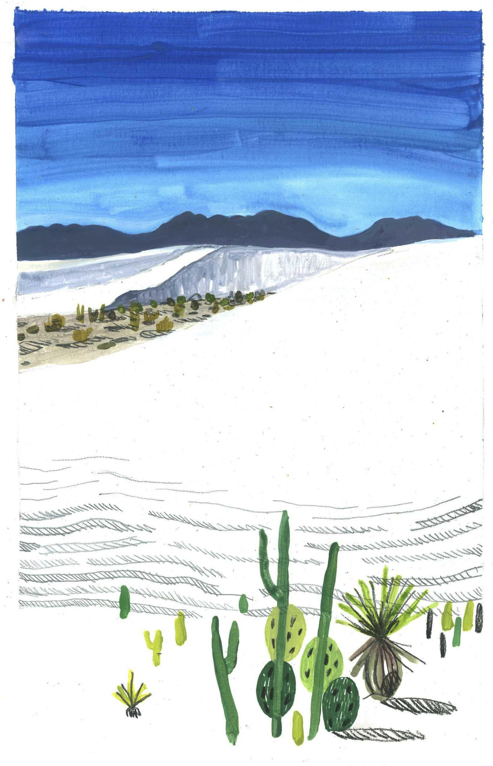 White Sands National Monument ( 1 )