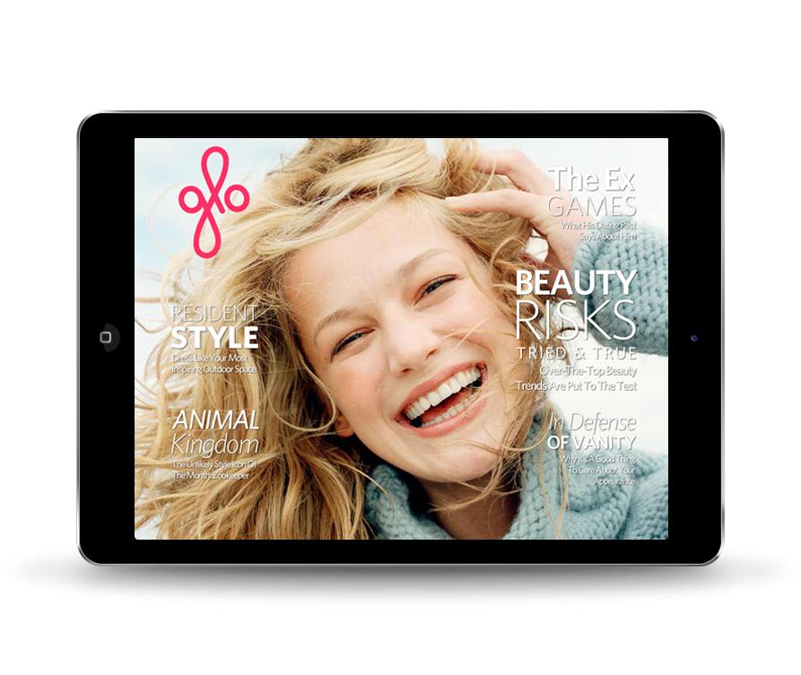iPad App Design / Glo