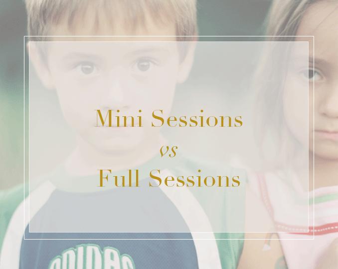 mini portrait session and full portrait sessions in harrisburg pennsylvania