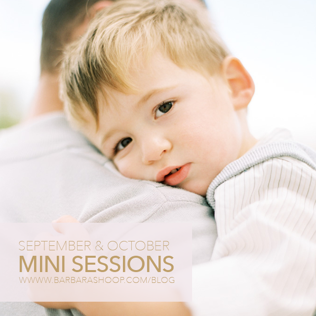 2015 fall mini sessions in central pa