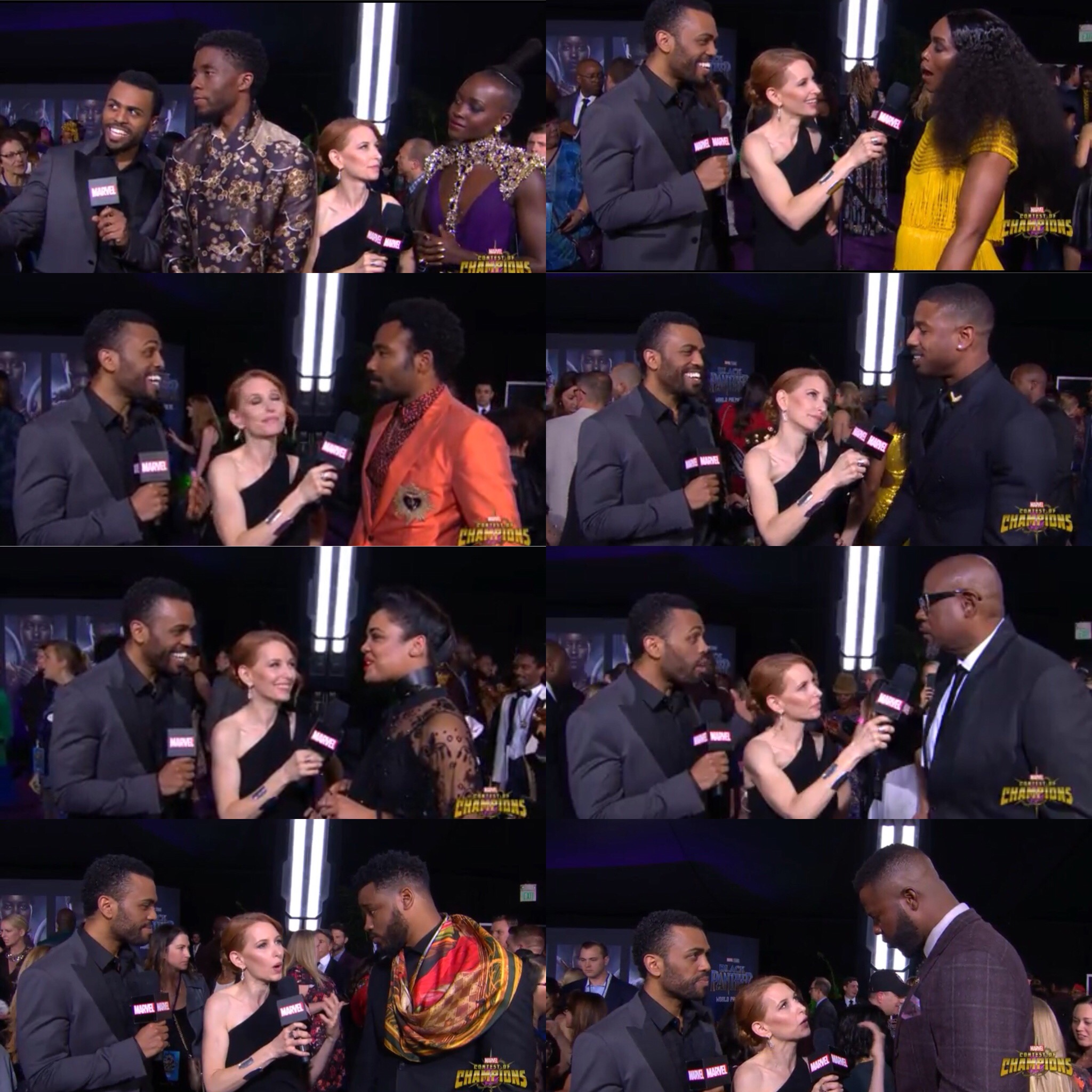 James & The Cast of Black Panther.JPG