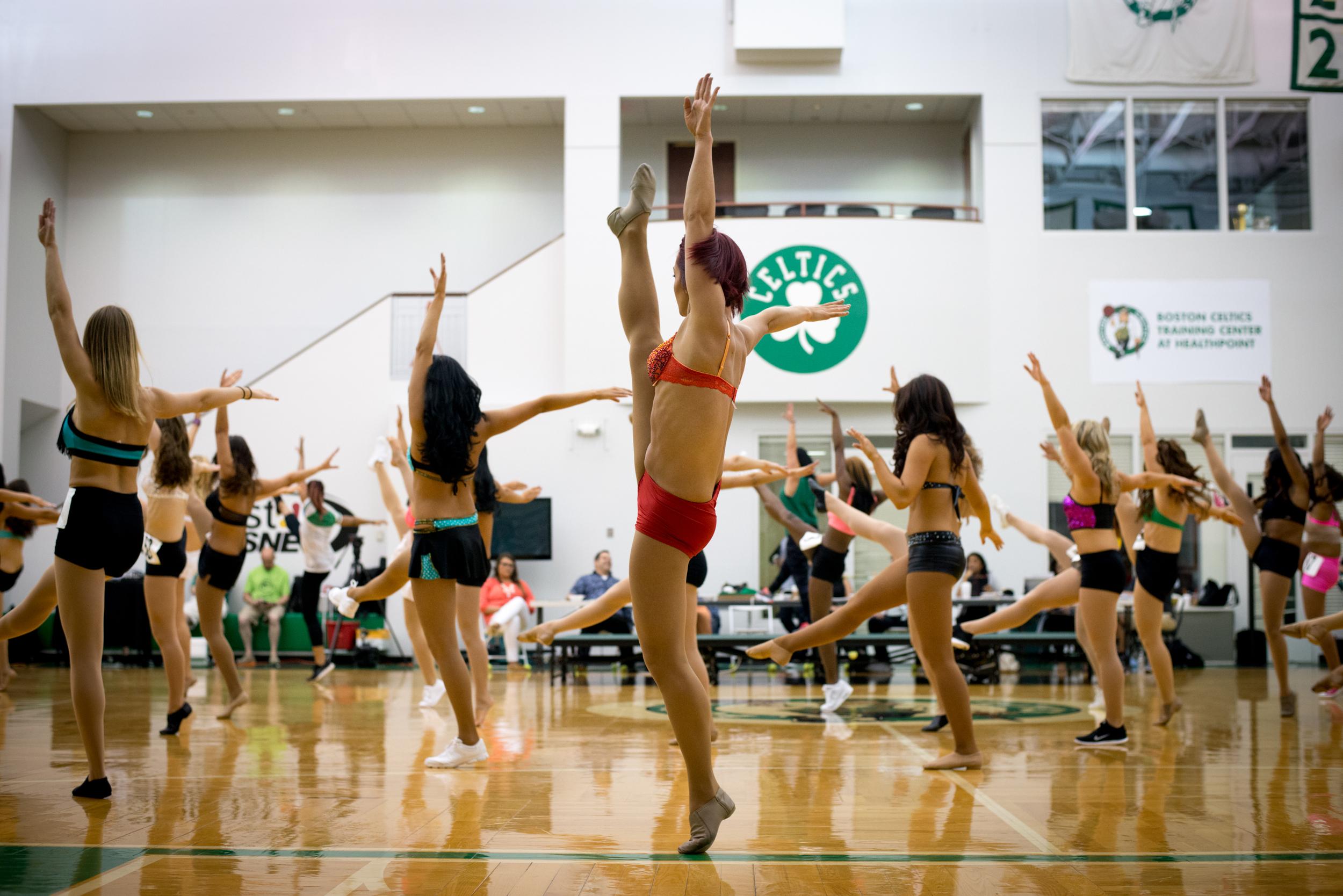 Celtics Dancer Audition
