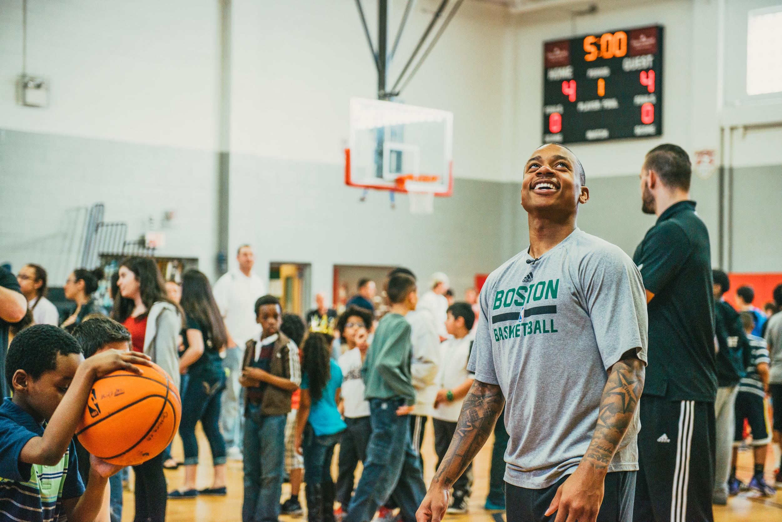 Isaiah Thomas   Basketball Clinic & Giveaway
