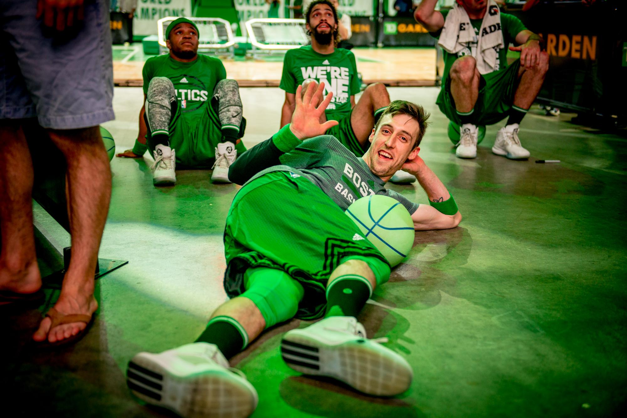 Celtics Dunk Team