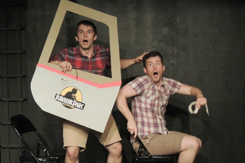 Nick Abeel and Kyle Schaefer in Hold On To Your Butts