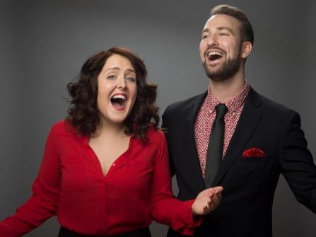 Rebecca Vigil and Evan Kaufman.