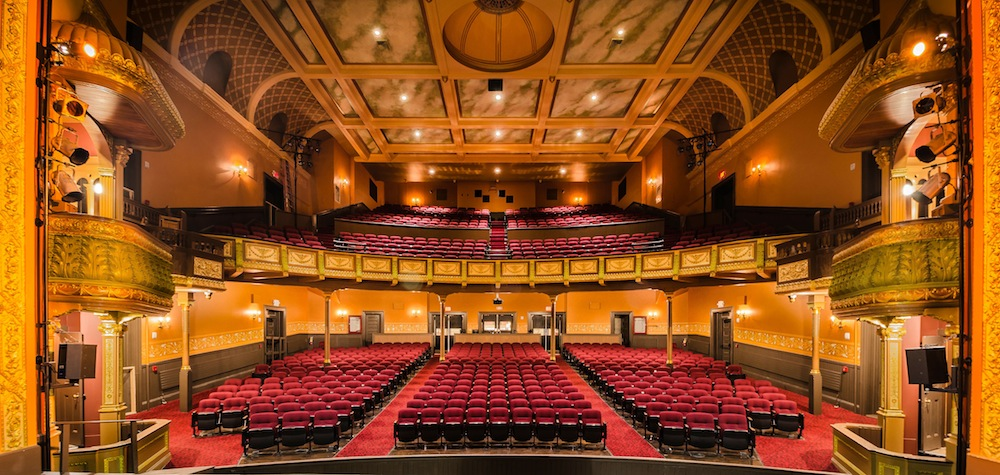 The HUGE and historical Academy of Music in Northampton, MA – the venue for the final Country Christmas Singalong Spectular of 2015 / photo courtesy of http://northeastpaint.com/