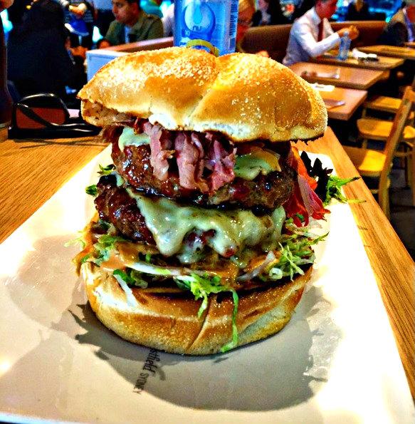 Reuben & Moore Double Wagyu Cheese Burger