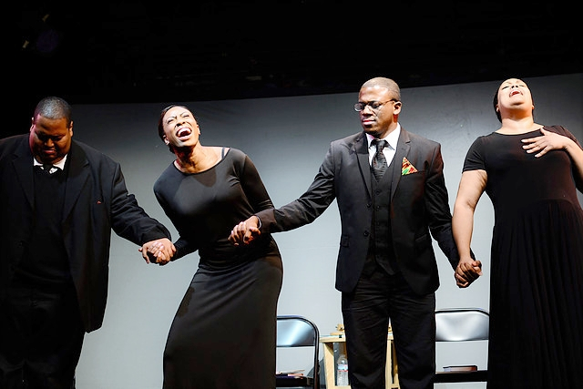 The cast of  Mother Emanuel.