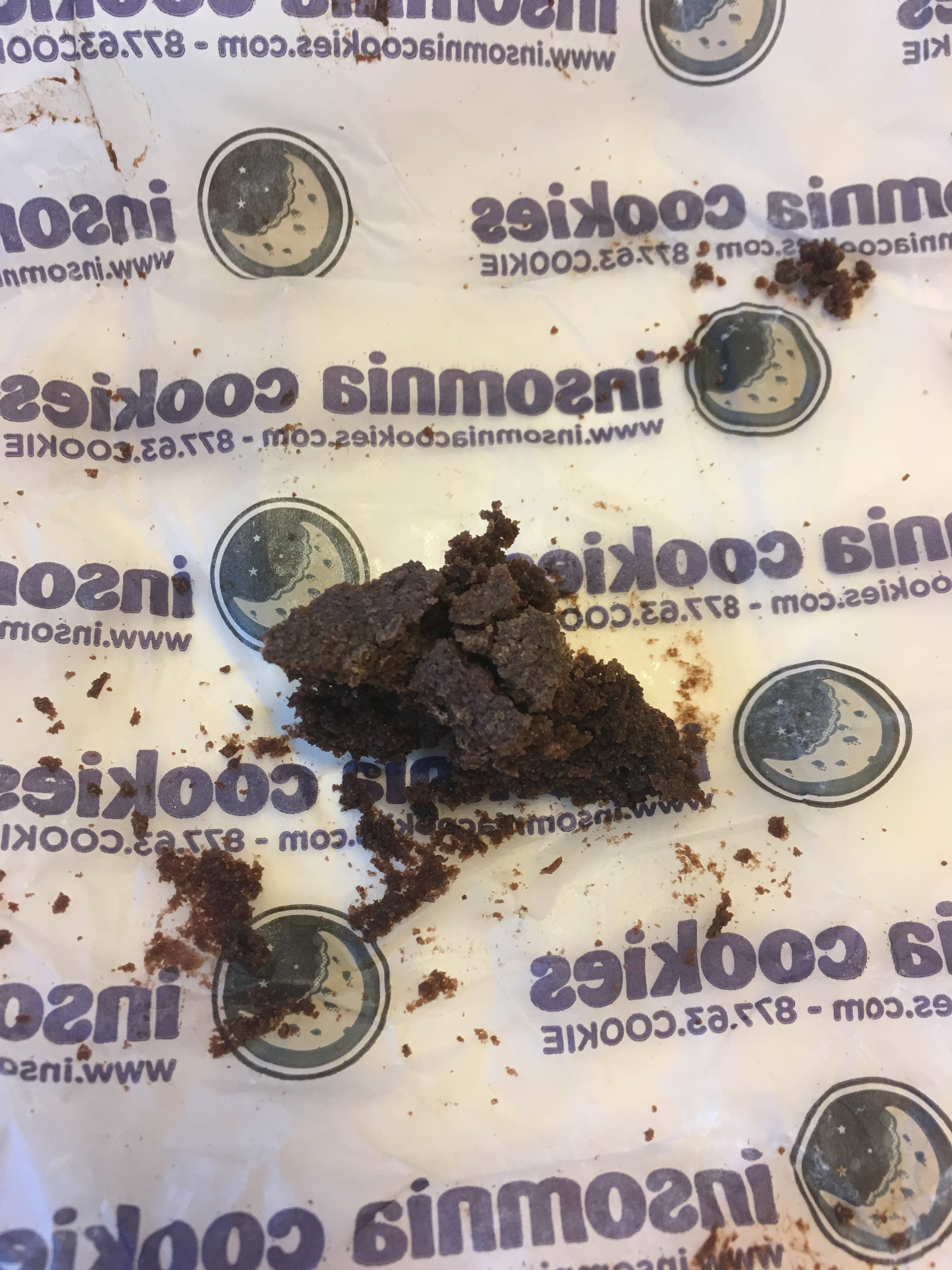 Insomnia Chocolate Chip Brownies at the end. Image: Frankie Jay