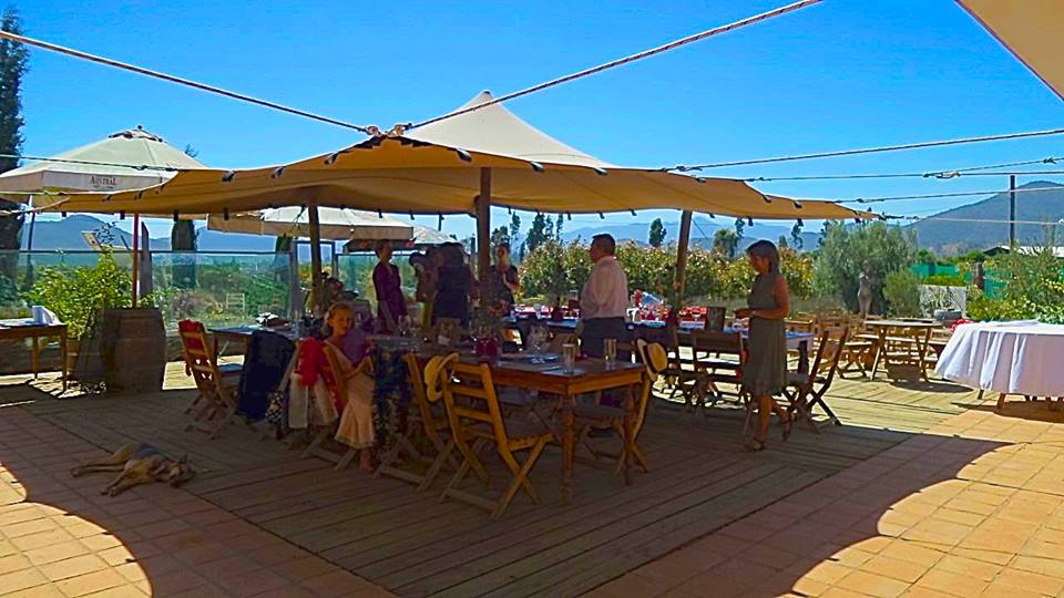 Casa Botha restaurant, Casablanca, Chile